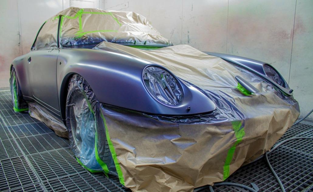peinture de voiture - Carrosserie Poude